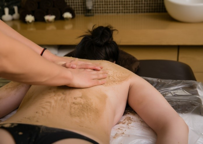 Exfoliation of the whole body