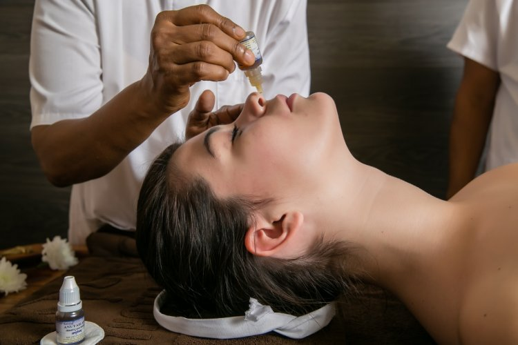 Nasya face massage in Ayurveda | Ayurvedasofia.bg