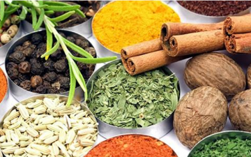 Ayurvedic foods - herbs and spices in the diet