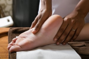 Reflexology for the legs